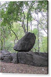 The Rock Acrylic Print by ThiART ThiART