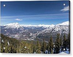 The Rockies Landscape Acrylic Print