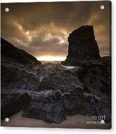 The Rocks Acrylic Print by Angel  Tarantella