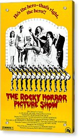 The Rocky Horror Picture Show Acrylic Print by Everett