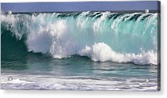 The Rolling Wave Acrylic Print