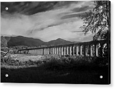 The Roman Aqueducts Acrylic Print