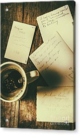 The Romantic Writers Loft Acrylic Print