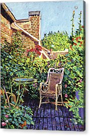 The Roof Garden Acrylic Print by David Lloyd Glover