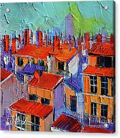 The Rooftops Acrylic Print