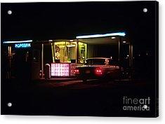The Roosevelt Drive Inn Acrylic Print by Corky Willis Atlanta Photography