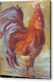 The Rooster Acrylic Print