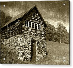 Acrylic Print featuring the photograph The Root Cellar by Pete Hellmann