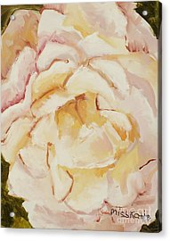 The Rose Acrylic Print by Katie OBrien - Printscapes