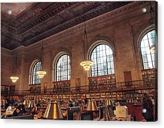 Acrylic Print featuring the photograph The Rose Reading Room by Jessica Jenney