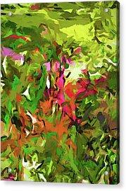 The Rosebud Acrylic Print
