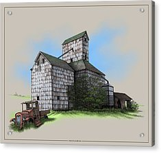The Ross Elevator Version 5 Acrylic Print