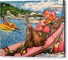 The Rosy Seasons Of Life Acrylic Print