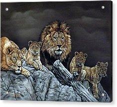 The Royal Family Acrylic Print