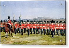 The Royal Fusiliers Acrylic Print