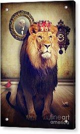 The Royal Lion Acrylic Print