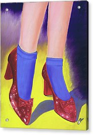 The Ruby Slippers Acrylic Print