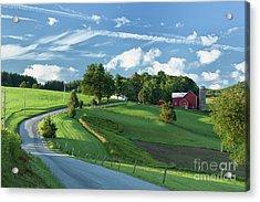 The Rudy Farm Acrylic Print