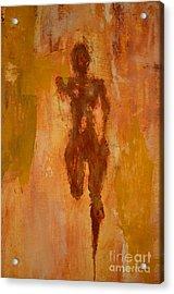 The Runner- Life's Journey  Acrylic Print by Vincent Avila