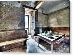 The Rural Kitchen - La Cucina Rustica  Acrylic Print