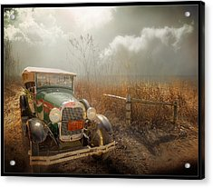 The Rural Route Acrylic Print