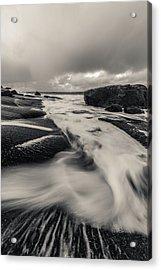 The Rush Of The North Sea Acrylic Print