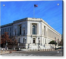 The Russell Senate Building Acrylic Print