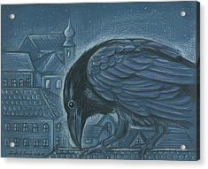 The Russian Raven Acrylic Print