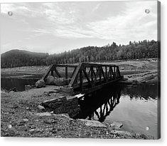 The Rusted Bridge Acrylic Print by Eric Radclyffe