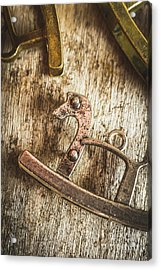 The Rusted Toy Horse Acrylic Print