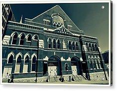 The Ryman Auditorium  Acrylic Print