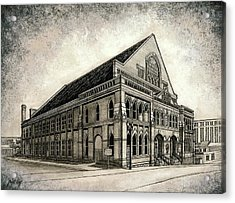 The Ryman Acrylic Print
