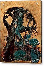 The Sacred Waters Acrylic Print