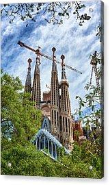 The Sagrada Familia Acrylic Print