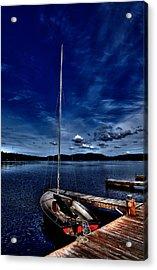 The Sailboat Acrylic Print by David Patterson