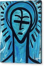 The Saint Acrylic Print by Gdm