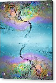The Same But Different Acrylic Print
