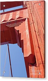 The San Francisco Golden Gate Bridge 5d3000 Acrylic Print