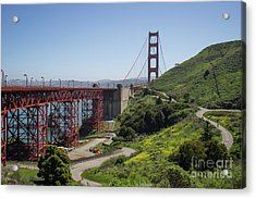 The San Francisco Golden Gate Bridge Dsc6139 Acrylic Print