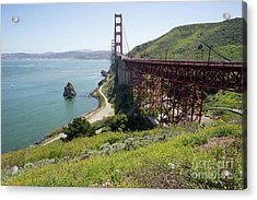 The San Francisco Golden Gate Bridge Dsc6146 Acrylic Print