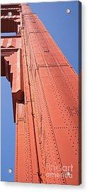 The San Francisco Golden Gate Bridge Dsc6189 Long Acrylic Print
