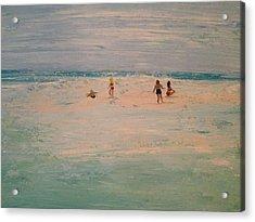 The Sandbar Acrylic Print