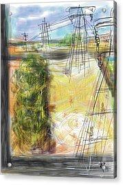 The Sandlot Acrylic Print by Russell Pierce