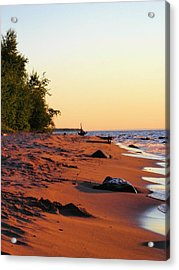 The Sands Of Dusk Acrylic Print by Peter Mowry
