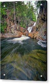 The Sandy River At Smalls Falls Acrylic Print