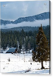 The Satica Ranch Acrylic Print by The Couso Collection