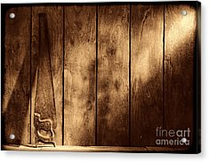 The Saw Acrylic Print by American West Legend By Olivier Le Queinec