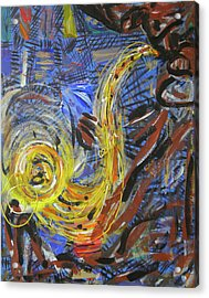 The Sax Man Acrylic Print
