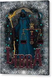 The Scale Libra Spirit Acrylic Print