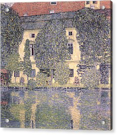 The Schloss Kammer On The Attersee IIi Acrylic Print